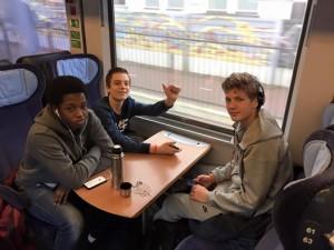ECC Halle trein 21-11-2015