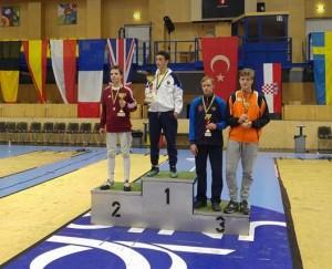 podium ECC Mödling  6-11-2015