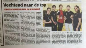 De Telegraaf (Amsterdam editie), 19-2-2015