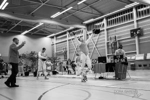 Foto: Dóra Barens, overwinning op Tableau 16