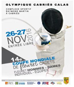 Poster ECC Cabries 2016