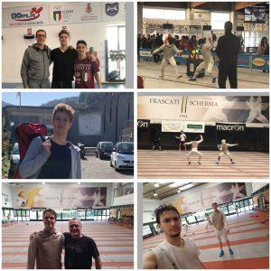 Trainen in Italië en 5e plaats 2a prova Giovani